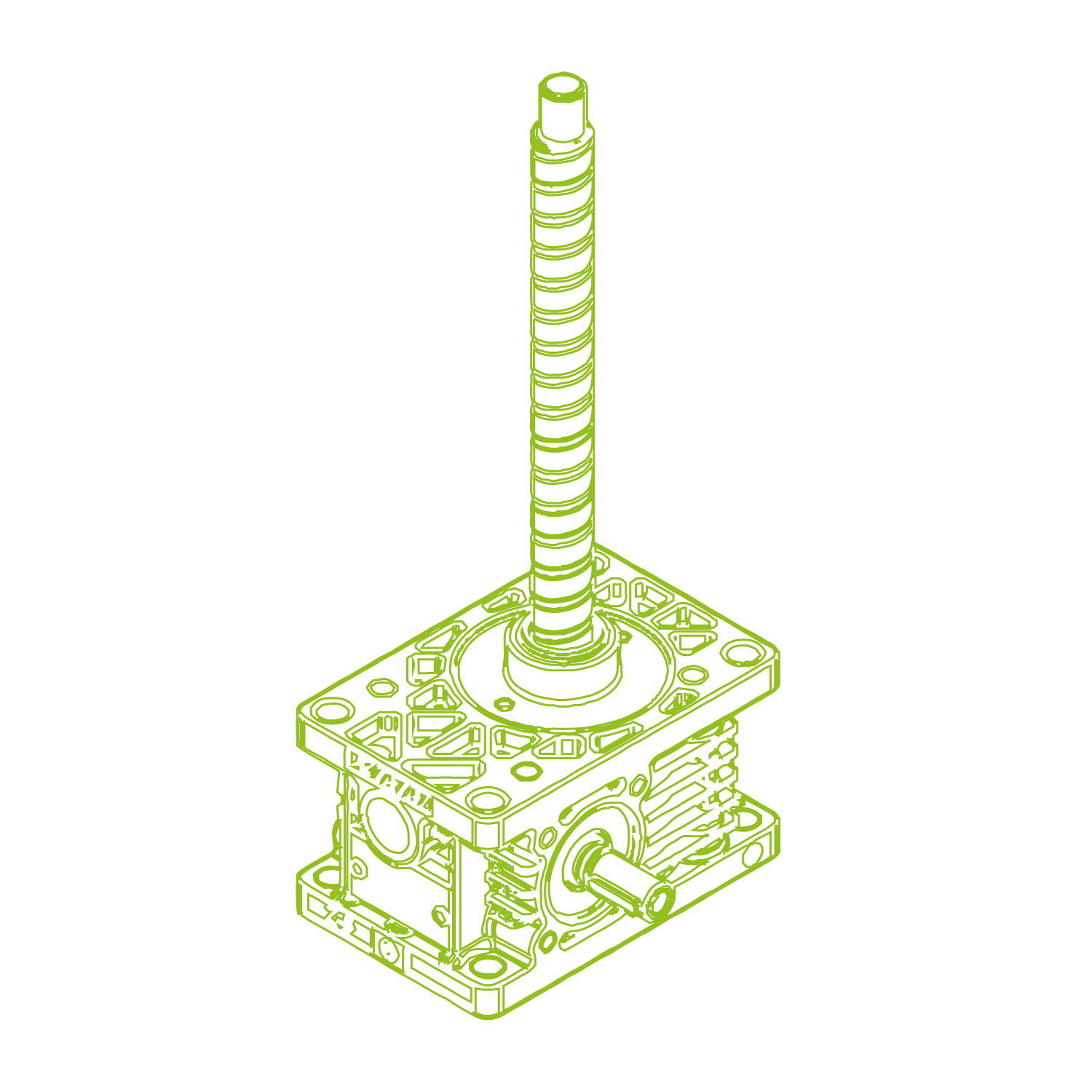 Z 5 kN R Śruby kulowe 16x10
