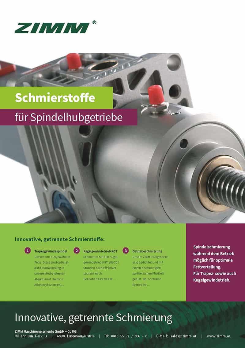 Środki smarne do przekładni śrubowych | Niemiecki